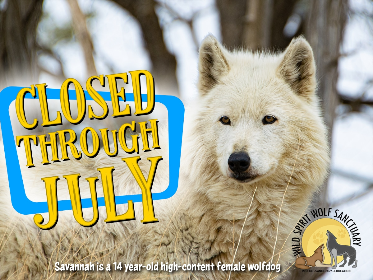 Closed through July, 2021