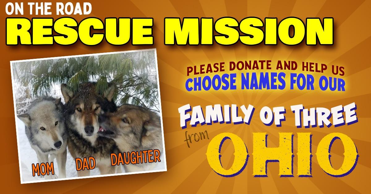 Ohio Trio Rescue Banner